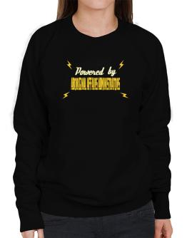 Powered By Aboriginal Affairs Administrators Sweatshirt-Womens