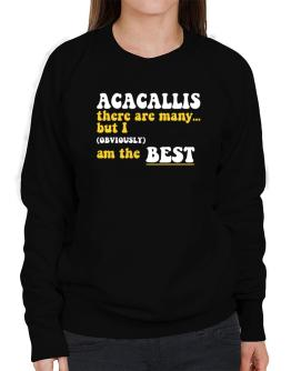 Acacallis There Are Many... But I (obviously) Am The Best Sweatshirt-Womens