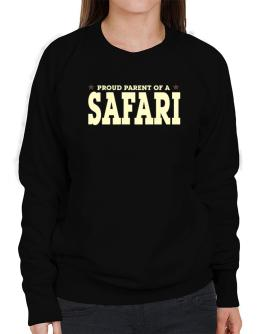 PROUD PARENT OF A Safari Sweatshirt-Womens
