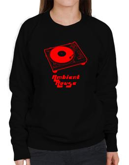 Retro Ambient House - Music Sweatshirt-Womens