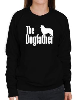 The dogfather Border Collie Sweatshirt-Womens