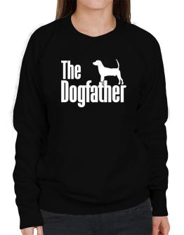 The dogfather North Country Beagle Sweatshirt-Womens