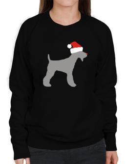 Fox Terrier christmas Sweatshirt-Womens