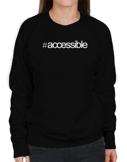 Hashtag accessible Sweatshirt-Womens