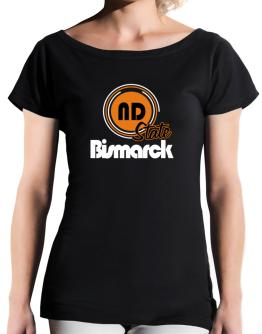 Bismarck - State T-Shirt - Boat-Neck-Womens