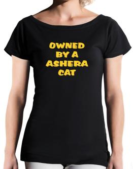 Owned By S Ashera T-Shirt - Boat-Neck-Womens