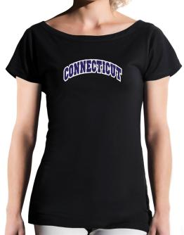 Connecticut Classic T-Shirt - Boat-Neck-Womens