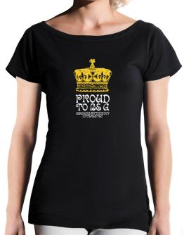 Proud To Be An Abenaki Mythology Interested T-Shirt - Boat-Neck-Womens