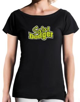 Salad Dodger T-Shirt - Boat-Neck-Womens