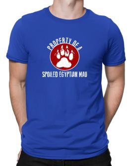 Property of a spoiled Egyptian Mau Men T-Shirt
