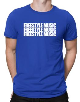 Three words Freestyle Music Men T-Shirt