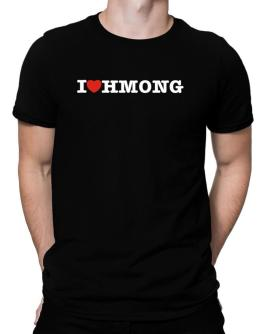 I Love Hmong Men T-Shirt