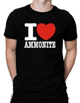 I Love Ammonite Men T-Shirt