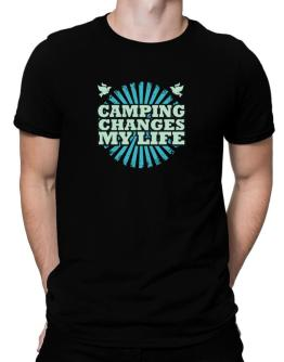 Camping Changes My Life Men T-Shirt