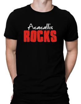 Acacallis Rocks Men T-Shirt