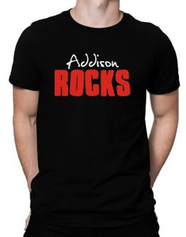 Addison Rocks Men T-Shirt