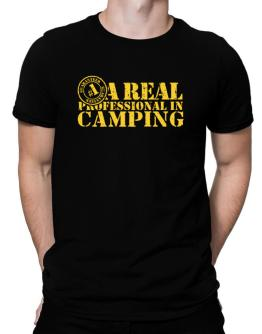 A Real Professional In Camping Men T-Shirt