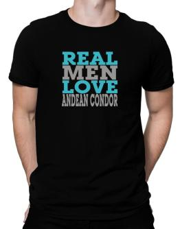 Real Men Love Andean Condor Men T-Shirt
