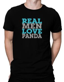 Real Men Love Panda Men T-Shirt