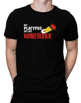 My Platypus Ate My Homework Men T-Shirt