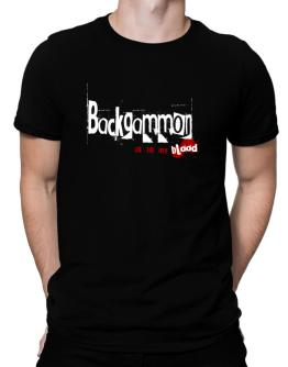 Backgammon Is In My Blood Men T-Shirt