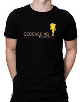 "Polo de "" Geocaching - Only for the brave """