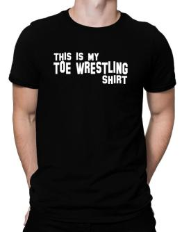 This Is My Toe Wrestling Shirt Men T-Shirt