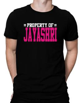 Property Of Jayashri Men T-Shirt