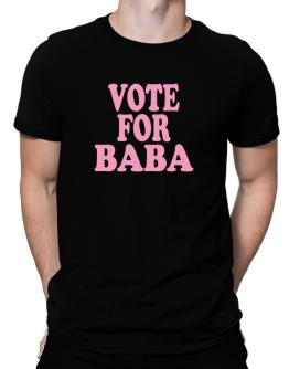 Vote For Baba Men T-Shirt