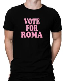 Polo de Vote For Roma