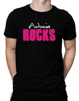 Adonia Rocks Men T-Shirt