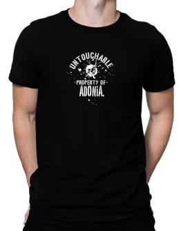 Untouchable Property Of Adonia - Skull Men T-Shirt