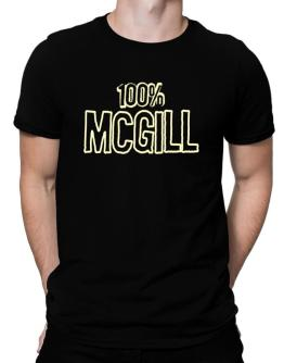 100% Mcgill Men T-Shirt