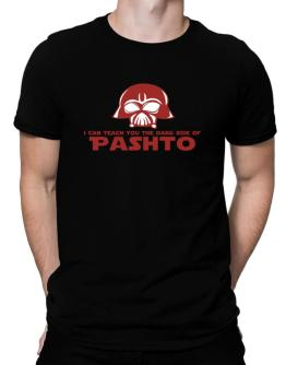 I Can Teach You The Dark Side Of Pashto Men T-Shirt