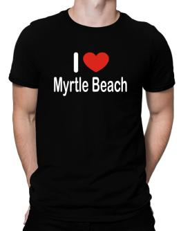 Playeras de I Love Myrtle Beach