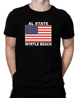 "Playeras de "" Myrtle Beach - US Flag """