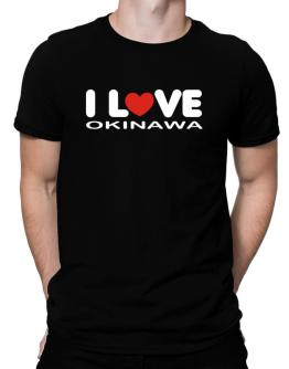 """ I LOVE Okinawa "" Men T-Shirt"