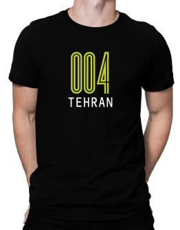 Iso Code Tehran - Retro Men T-Shirt