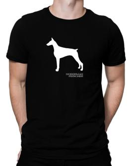 Polo de Doberman Pinscher Stencil / Chees