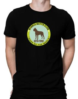 Boston Terrier - Wiggle Butts Club Men T-Shirt