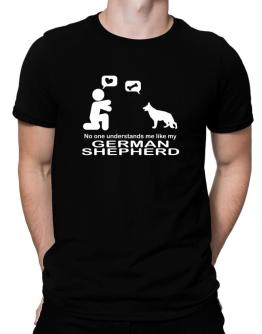 No One Understands Me Like My German Shepherd Men T-Shirt