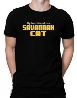 My Best Friend Is A Savannah Men T-Shirt