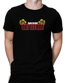 Safari Cattitude Men T-Shirt