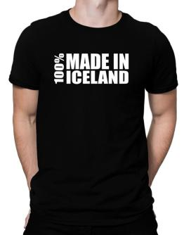 100% Made In Iceland Men T-Shirt