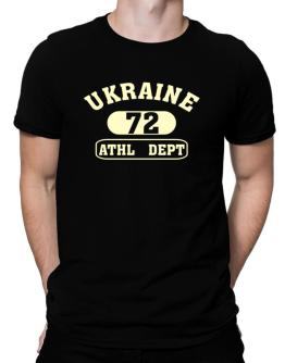 Ukraine 72 Athl Dept Men T-Shirt