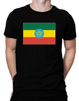 Ethiopia Flag Men T-Shirt