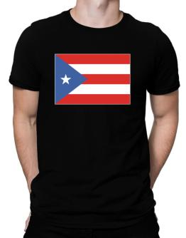 Puerto Rico Flag Men T-Shirt