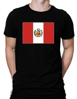Peru Flag Men T-Shirt