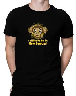 Polo de I´d Like To Be In New Zealand - Crying Monkey