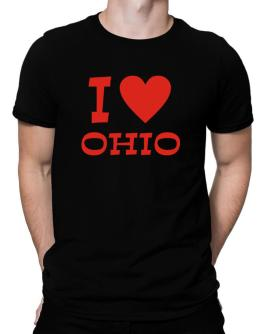 I Love Ohio Men T-Shirt